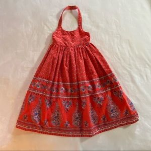 Old Navy Red Halter Dress, Size 5T